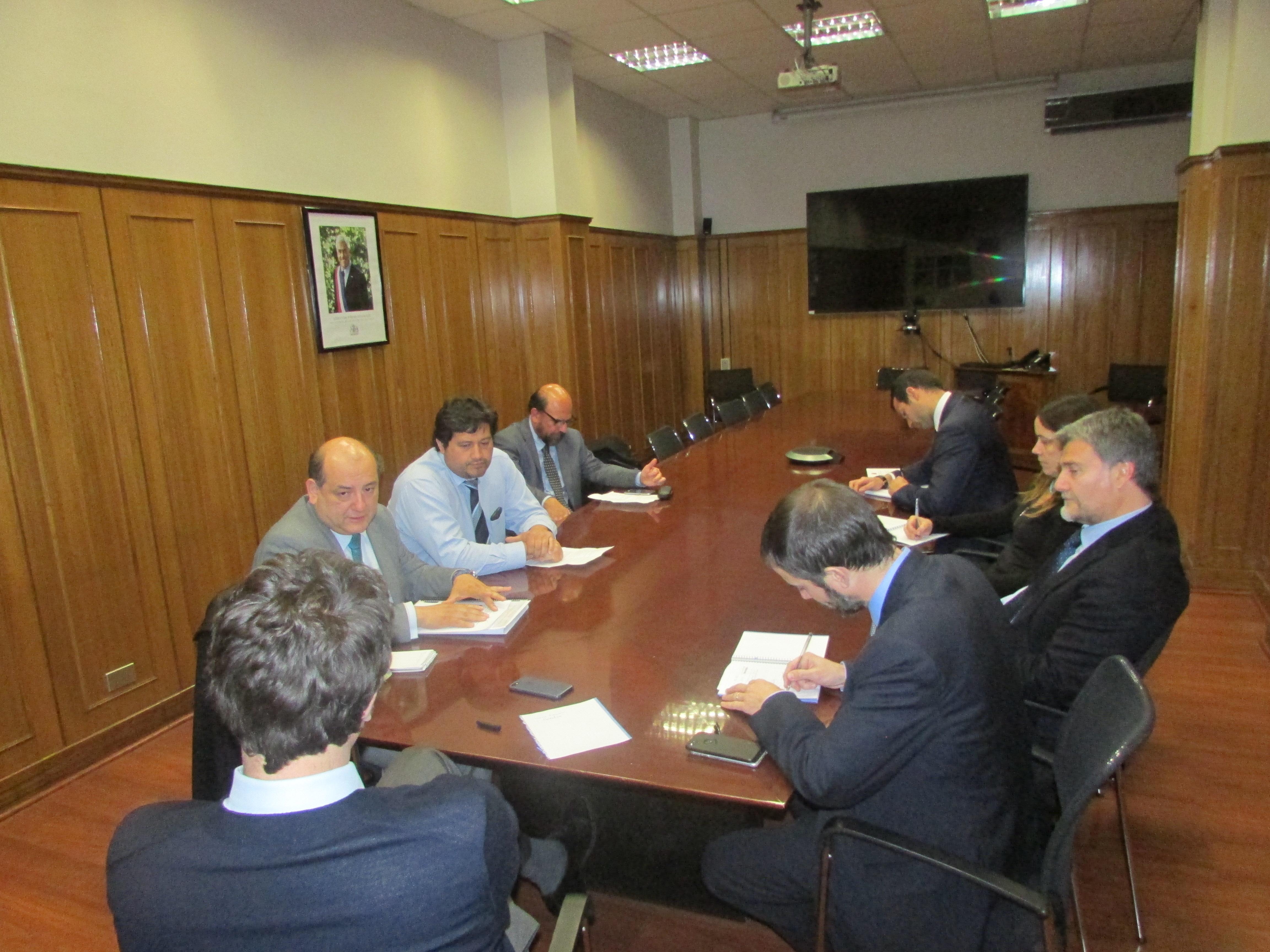 Subsecretario de Justicia se reúne con Directorio Nacional de AFUDEP - 30 Julio 2018