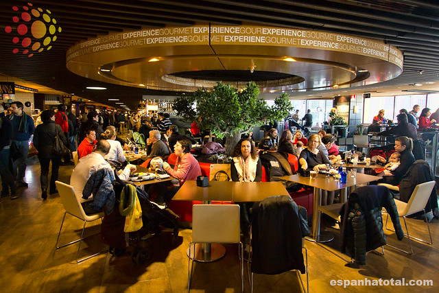 os melhores mercados gastronômicos em Madri: Gourmet Experience  Gran Vía