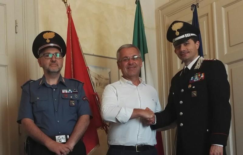 Il Sindaco di Castel Bolognese ha salutato il Capitano Marella