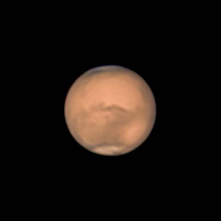 火星 (2018/7/24 00:59-01:28) (2000/5000 x 8 de-rotation (01:12) IR+RGB)