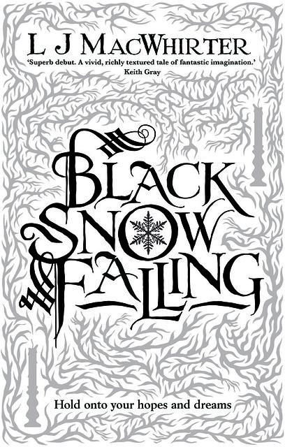 L J MacWhirter, Black Snow Falling