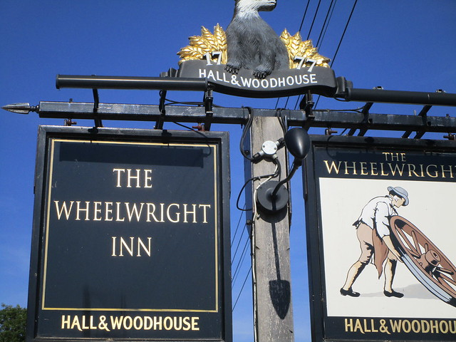 The Wheelwright Inn, EX13, Canon IXUS 180