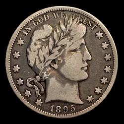 1895-O Barber half dollar obverse