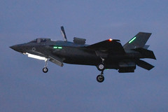 2nd RAF Lightning II delivery. RAF Marham, 03-8-2018