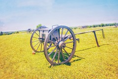 Just cannons and empty fields in silence