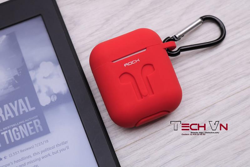 TechVn - Case airpods ROCK ốp bảo vệ airpods 07
