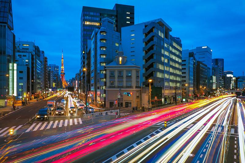 夜東京|東京鐵塔