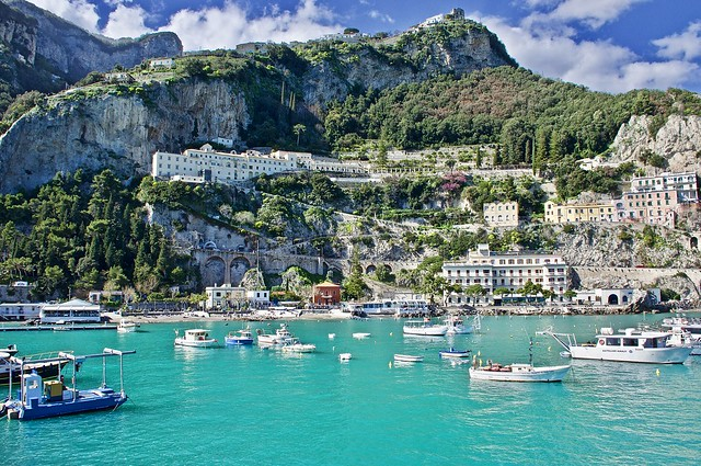 A beautiful day in Amalfi