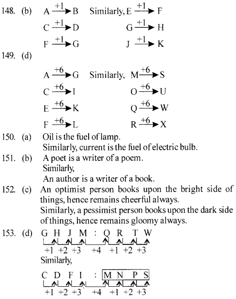 ssc-reasoning-solved-papers-analogy - 30