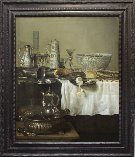 Ornate Still Life, Willem Claesz. Heda, 1638