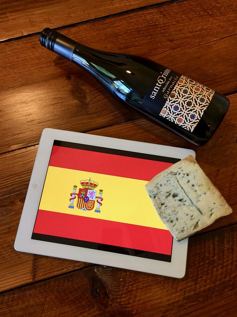 Santo Cristo Garnacha y Valdeon iPad Just the Bottle Chat