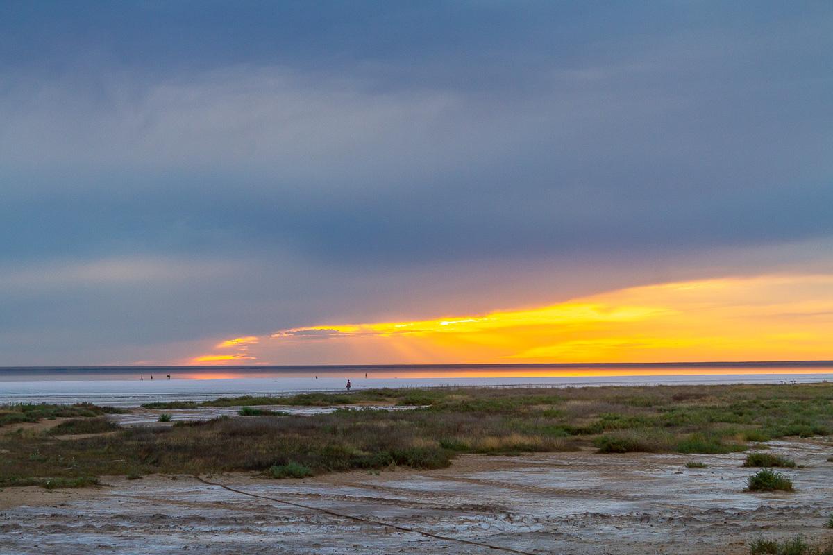 Закат на Эльтоне фото 5