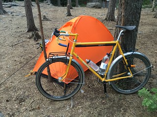Surly pacer 650b, now with custom rear rack too..