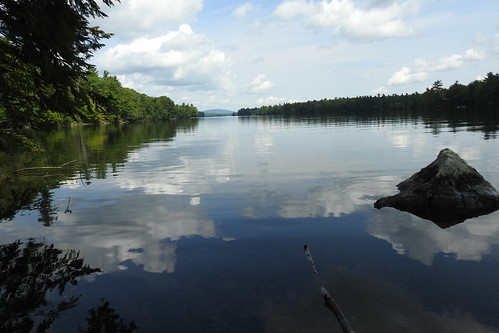 echolake fayette crotchedpond lake mizuumi ellago water leau elagua daswasser mizu waterfront pond reflections reflection maine rong58 usa images summer pictures photooftheday day image color photography photo photos us light trip nikon picture digitalcamera picoftheday photograph new live geotagged nature travel exploration landscape sky bluesky colorful clouds forest mori laforêt woods