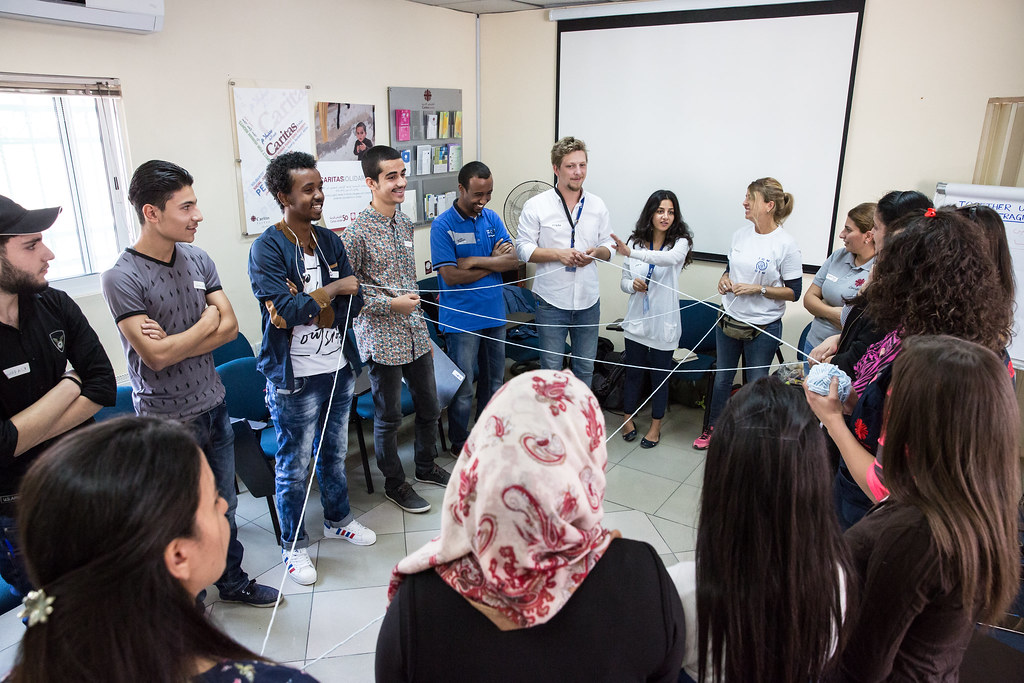 Jordan Participatory Video | The team and participants intro