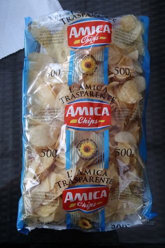 Amica Chips Patatine salate = gesalzene Chips aus Italien (Paket)