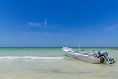 Car-free island Holbox, Mexico