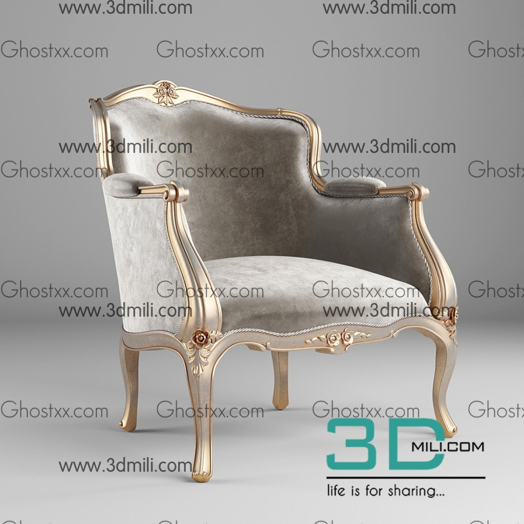 457  Chair 3D Models Free Download - 3D Mili - Download 3D Model