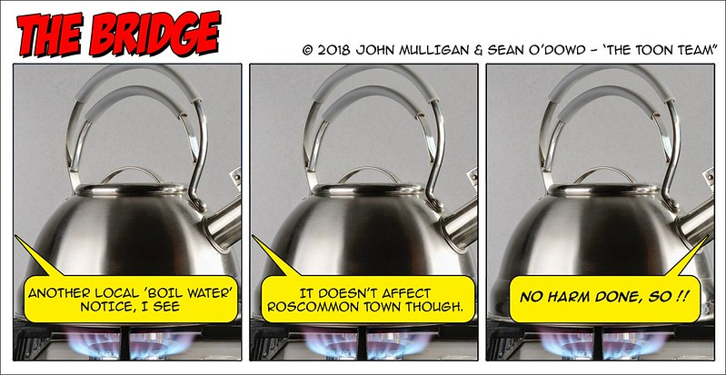 The Toon Team - Boil Water Notice