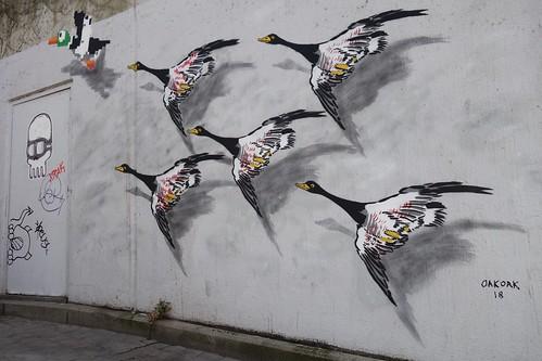 By Oakoak (Place d'Espagne, Bruxelles)