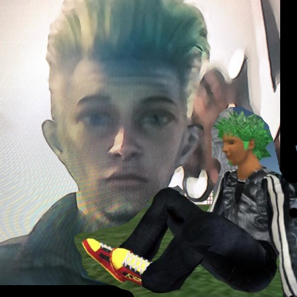 Wade starts Ready Player One with  green hair. Just saying ;)
