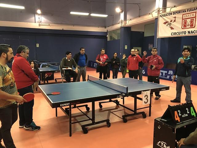 Lima - 2018 ITTF Basic Umpires Course