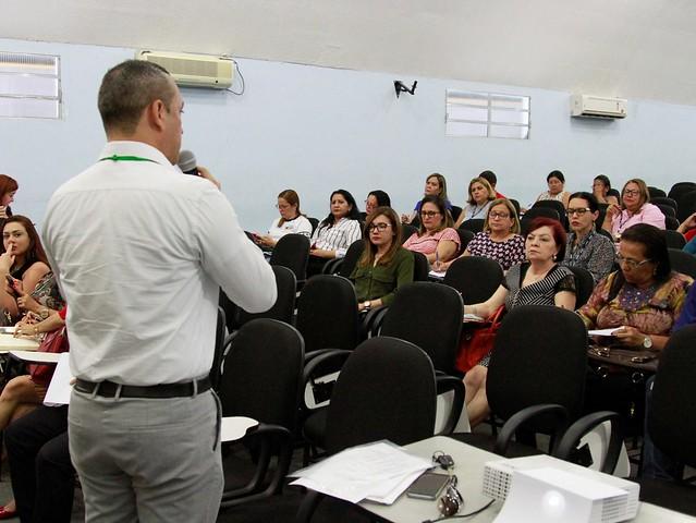 03.08.18 Crianças de creche municipal tem aula diferenciada sobre alimentação saudável