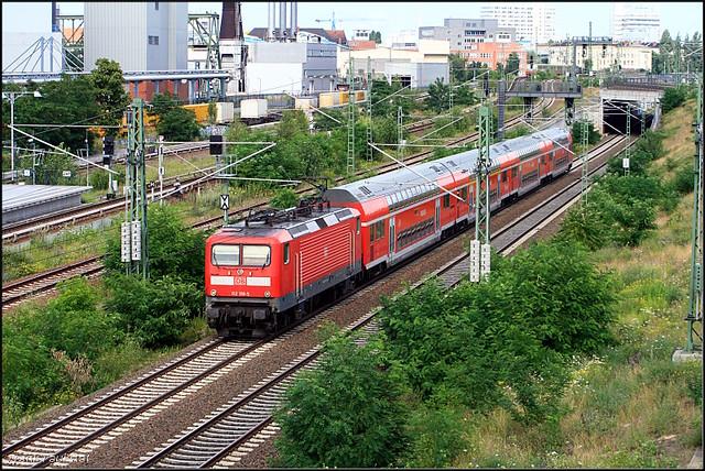 DB Regio 112 118, Canon EOS 400D DIGITAL, Canon EF 55-200mm f/4.5-5.6 II USM