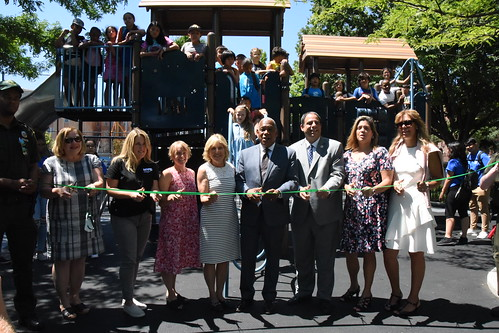 Astoria Heights Playground CPI Ribbon Cutting