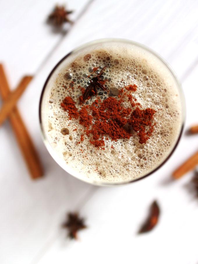 【食譜】純素印度香料杏仁奶茶 Vegan Almond Milk Masala Chai Tea Latte