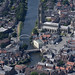 Aerial of Boston in Lincolnshire