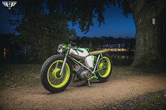 Simson S51 Night Shooting
