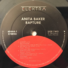 ANITA BAKER:RAPTURE(LABEL SIDE-B)