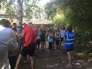 Cambridge parkrun 28/07/18