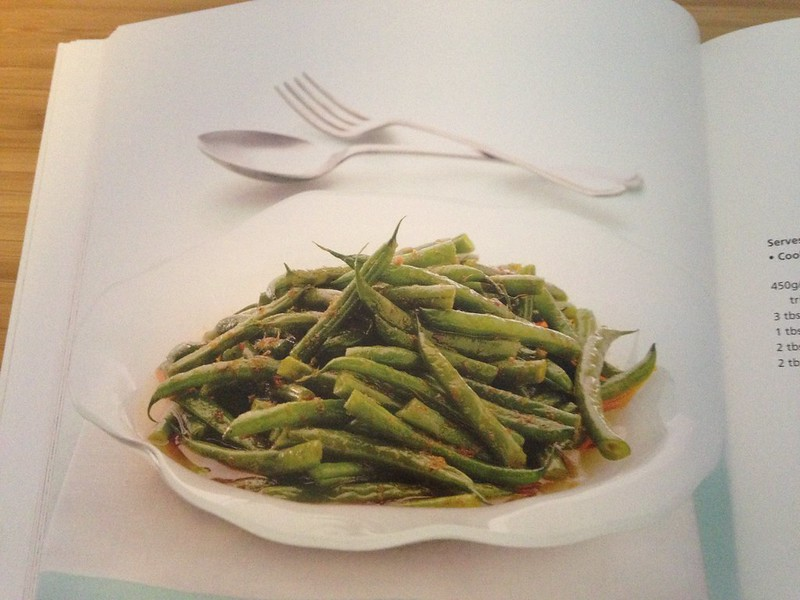 Spicy Green Beans, from Sallie Morris' 'Easy Thai Cookbook'