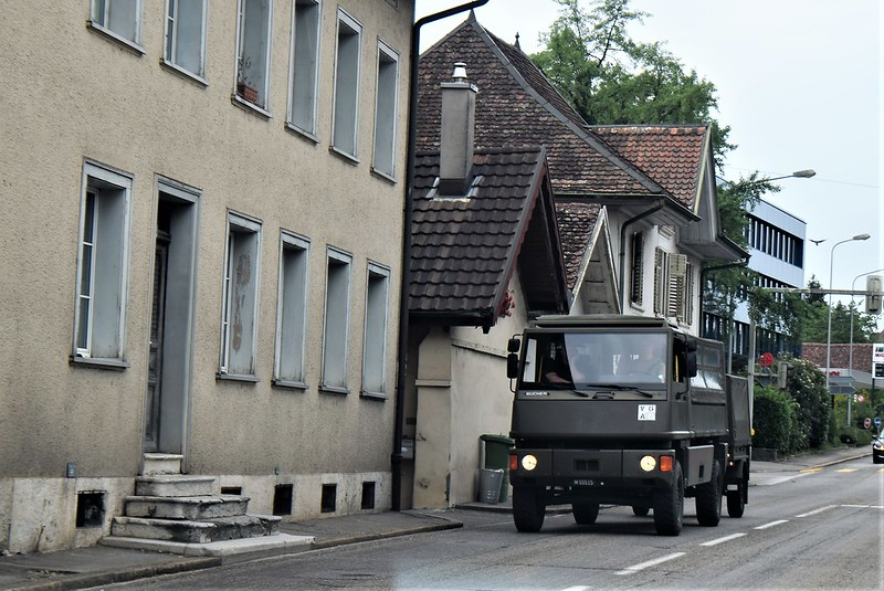 Swiss Army Truck 08.08.2018