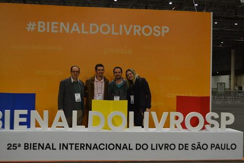 Bienal Internacional do Livro 2018 - Homenagem da Associação Brasileira das Editoras Universitárias (ABEU) aos 25 anos da Editora Metodista