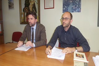 Noicattaro. conferenza teatro front