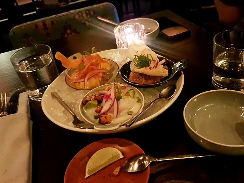 Mira Restaurant ceviche