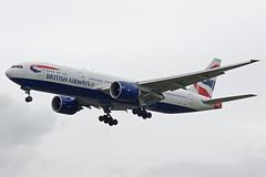 British Airways Boeing 777-236 G-VIIG