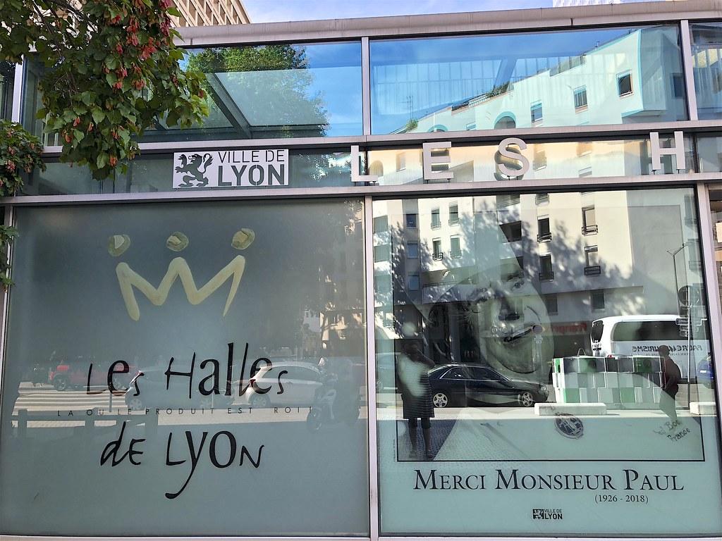 Les Halles de Lyon Paul Bocuse sijaitsee Part-Dieun kaupunginosassa.