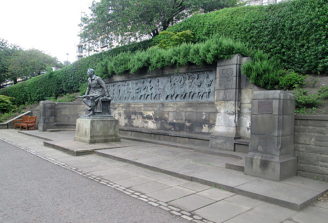 American War Memorial, Princes Street Gardens, Edinburgh