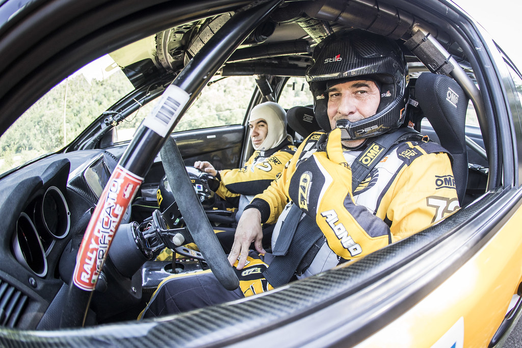 ALONSO Juan Carlo (arg), JOSE DIAZ Luis, (arg), Mitsubishi lancer evo X, portrait during the 2018 European Rally Championship ERC Rally di Roma Capitale,  from july 20 to 22 , at Fiuggi, Italia - Photo Gregory Lenormand / DPPI
