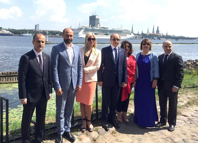 Azerbaidžānas tieslietu ministra vizīte VPD