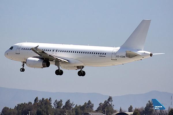 LAN Airbus A320 CC-CQM blanco (RD)