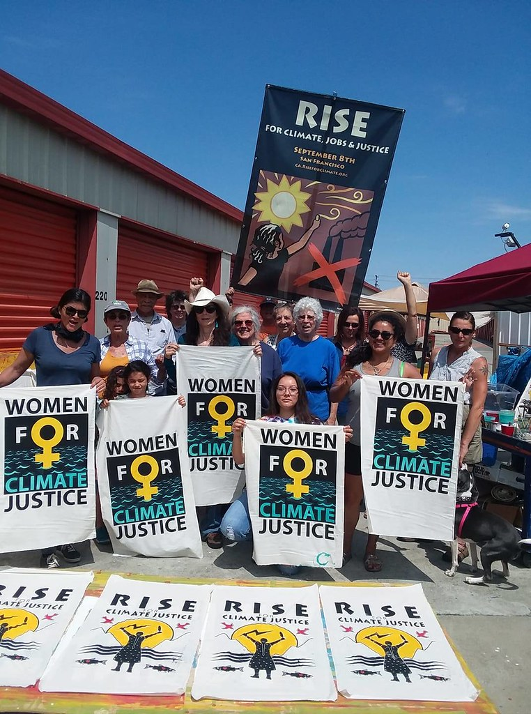 ART: Rise for Climate, Jobs & Justice CA