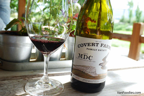 Covert Farms Family Estate Wine Tasting