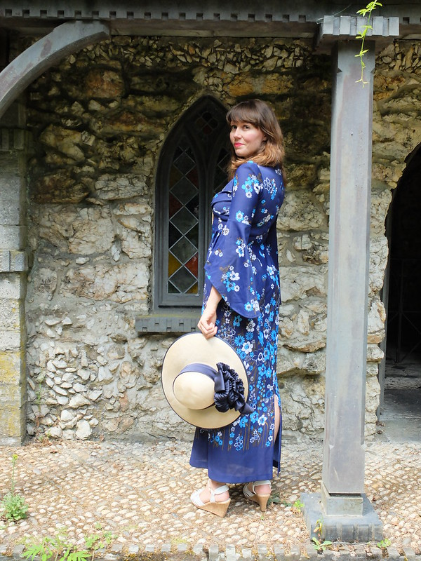 Roy 70s maxi dress @porcelinasworld