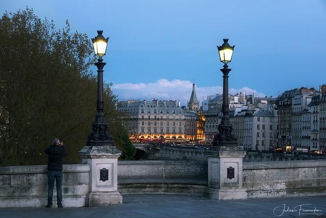 Pont Neuf & Place Saint-Michel, Paris