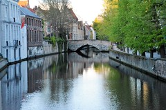 Brügge and its canals - Reflections